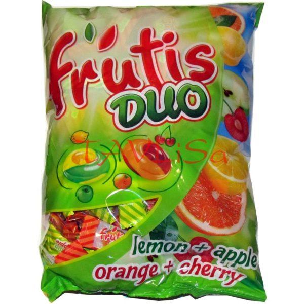 bonbóny Frutis Duo tvrdé 1kg Mieszko