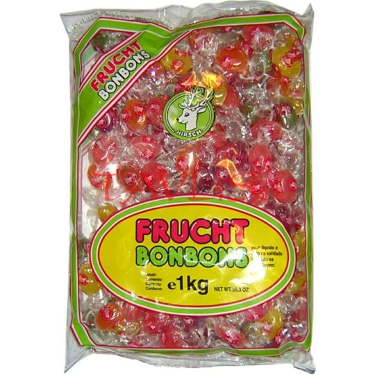 Bonbóny Frucht ovocné 1kg Hirsch