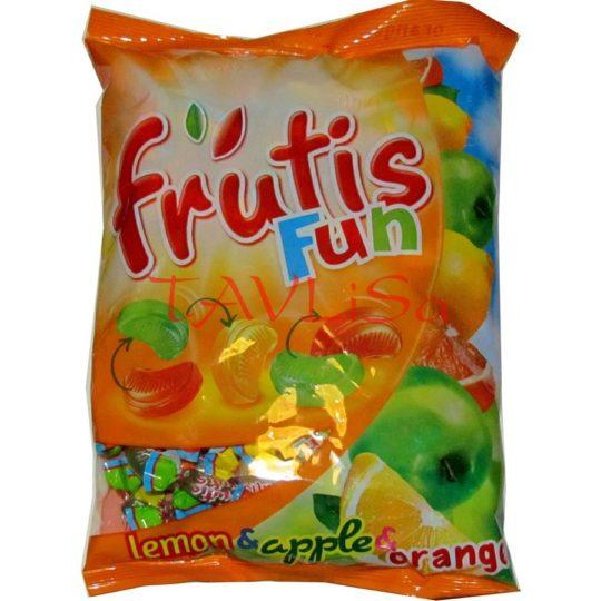 bonbóny Frutis Fun lemon apple orange 1kg Mieszko
