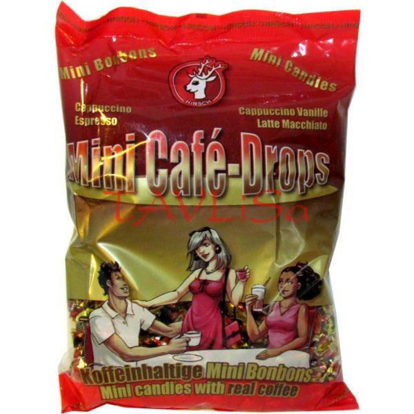 bonbóny Café mini drops 1kg Hirsch