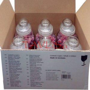 Bonbóny Berry Candies 966g x6 Skleněná dóza